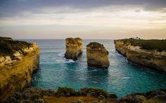 Fantastic scenery! You gotta  #Australia!  #greatoceanroad #victoria #12apostles #sea by ronnyleber http://ift.tt/1ijk11S