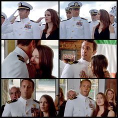 Michelle Borth and Alex O'Loughlin