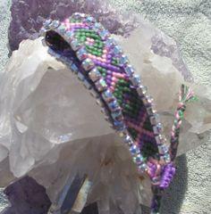 Bohemian Luxury Bracelet PURPLES GREENS PINKS diamond Arrowhead Arrow Zig Zag Pattern Native American Tribal Ibiza Beach Jewelry Rhinestones Gold Chain silver tassel cuff pastel multicolor bangle handmade