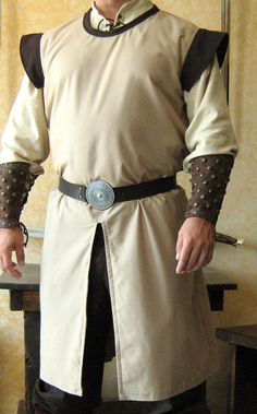 Medieval Celtic Viking Tunic White Without Sleeves renaissance shirt SCA Larp Costume Armour, Warrior Costume, Renaissance Shirt, Renaissance Fashion, Viking Clothing, Historical Clothing, Knight Outfit, Mens Garb, Viking Tunic