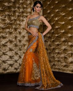 Lust Worthy Designer Wear ~ Kisneel By Pam Mehta {part - Asian Wedding Ideas Bridal Sari, Saree Wedding, Desi Wedding, Wedding Hair, Bridal Dresses, Wedding Jewelry, Indian Dresses, Indian Outfits, Indian Clothes