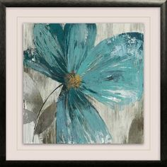 """Star Creations """"Gisel II"""" by Asia Jensen Framed Painting Print on Wrapped Canvas"""