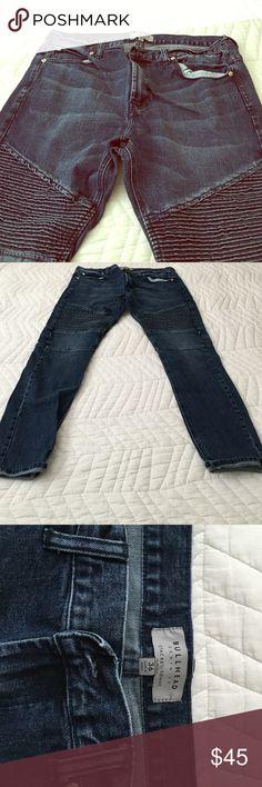 Bullhead Moto Jeans - Men's - Size 36 Like new! Moto style men's jeans from Pacific Sunwear. Size 36. Bullhead Jeans Skinny