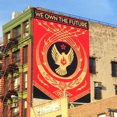 """Shepard Fairey """"We Own The Future""""  For The Lisa Project - New York City, USA"""