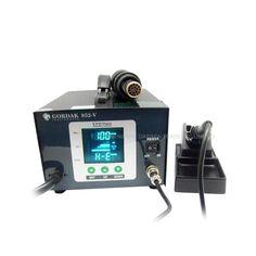59.01$  Buy here - http://alight.worldwells.pw/go.php?t=32731477390 - New 580W Gordak 952V soldering station + hot air heat gun 2 in 1 SMD BGA rework station 59.01$