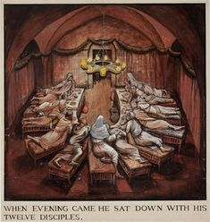 The Passion of Christ (When Evening Came…) | William Kurelek