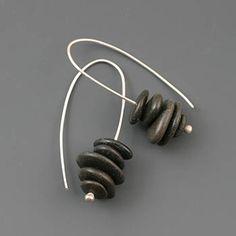 Black Cairn Earrings