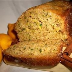 Lemon zest adds a touch of summer to this sweet zucchini bread! Lemon Zucchini Bread, Zucchini Bread Recipes, Indian Tacos, Confort Food, Different Recipes, Sweet Bread, Bread Baking, Breakfast Recipes, Breakfast Ideas