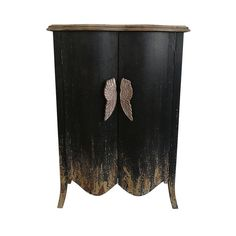 Lend your favorite room an angelic addition with the AB Home Bellamy Decorative Chest , featuring sturdy wood construction in a distressed, antiqued.