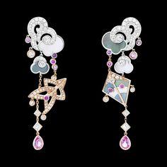 Van Cleef & Arpels Cerfs-Volants Large Model Earrings