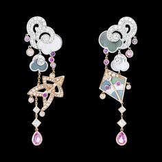 Van Cleef & Arpels Cerfs-Volants Large Model Earrings