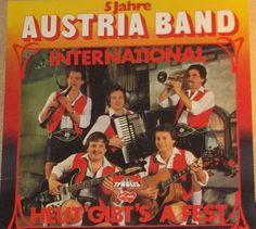 Austria Band International Heut Gibt's A Fest Vinyl Austrian Record Album by RASVINYL on Etsy