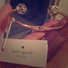 KS Bracelet Matching Earrings available (small wrist preferably) kate spade Jewelry Bracelets