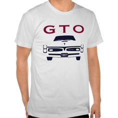 1967 GTO Silhouette T-shirts New designs available at www.zazzle.com/digitalhotrod
