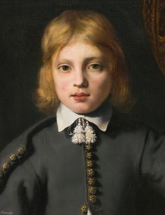 Ferdinand Bol DORDRECHT 1616 - 1680 AMSTERDAM PORTRAIT OF A BOY, SAID TO BE THE ARTIST'S SON, AGED 8
