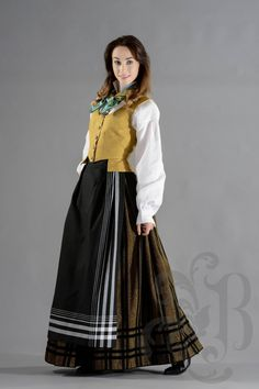 Folk Costume, Costumes, Tromso, Norway, That Look, Culture, Skirts, Dresses, Fashion