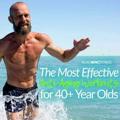 Some of these programs are great to try and some may not be so appropriate. Find out which ones work and which don't with this article on anti aging exercise programs for forty-plus year olds. You'll find a list of ten popular exercises that can help combat the effects of age, as well as an explanation about how they're effective. 40 Years Old, Year Old, Body Motivation, Fitness Quotes, Train Hard, Workout Programs, Physique, Anti Aging, Dreaming Of You