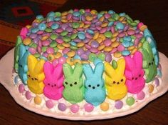 Easter Cake #justapinchrecipes