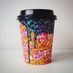 """Coffee cups of The World on Instagram: """"Panda Mouth Cups, Australia. @pndmth with design by @davehomerdraws"""""""
