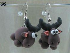 Moose earings
