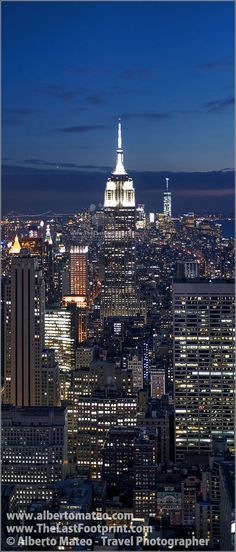 Alberto-Mateo-Travel-Photographer-Empire-State-Buiding-by-night-Manhattan-New-York , Manhattan, New York. | By Alberto Mateo, Travel Photographer.