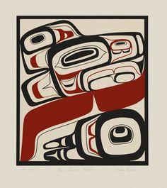 Dean Heron ( Tlingit )  - Four Clans: Raven