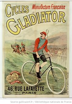 Cycles Gladiator, manufacture française..., 46 rue Lafayette