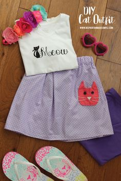 DIY Kitty Outfit for