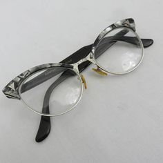 316e5f7521 Vintage Mother of Pearl Browline Glasses or Sunglasses by American Optical  - 1950s Eyeglasses