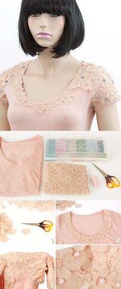 DIY Cute Blouse