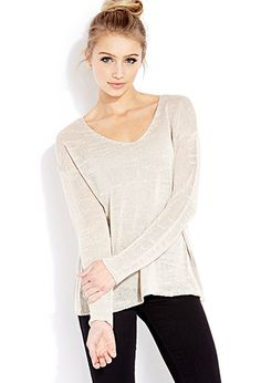 helllooo new go-to sweater. Favorite Open-Knit Sweater   FOREVER21 - 2000063880