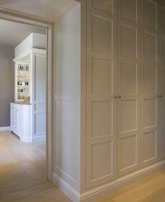 hallway closet design built in hallway cabinet design built in hallway closet towel built front hall closet door ideas hallway closet organization Front Hall Closet, Hallway Closet, Closet Bedroom, Closet Doors, Hallway Office, Dark Hallway, Front Hallway, Upstairs Hallway, Shoe Closet