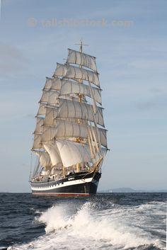 """Kruzenshtern"". Russian four-masted barque"