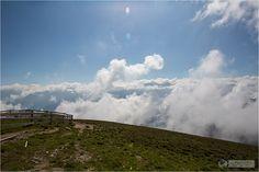 Serfaus-Fiss-Ladis - Alpen Bergpanorama - Mountains and alps - über den Wolken