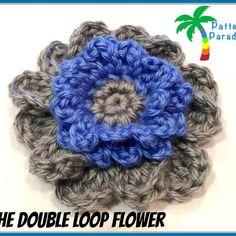 Free Pattern – The Double Loop Flower