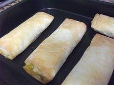 Crepes chineses caseiros - Versão forno