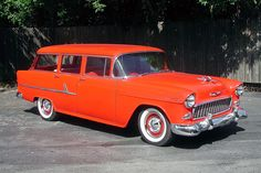 1955 Chevy, 1955 Chevrolet, Bristol, Beach Wagon, Chevy Nomad, Old Wagons, Car Pictures, Car Pics, Vintage Trucks