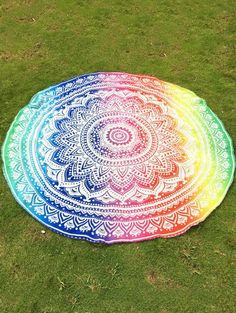 SHARE & Get it FREE | Colorful Mandala Chiffon Round Beach ThrowFor Fashion Lovers only:80,000+ Items • New Arrivals Daily Join Zaful: Get YOUR $50 NOW!