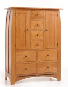 Amish Vineyard Chifforobe Solid wood bedroom storage like the Vinyard Chifforobe is one of a kind. This combination or wardrobe and dresser is versatile and stunning.