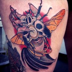 Tattoo done by Eckel.