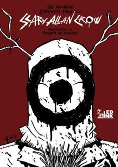 """Scary Allan Crow"" Allan, Crow, Scary, My Books, Geek Stuff, Snoopy, Comics, Fictional Characters, Geek Things"