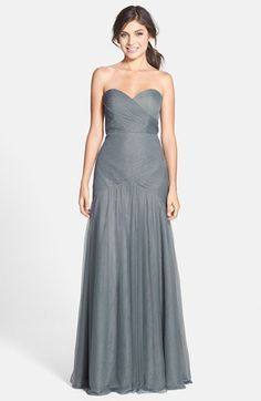 0e935d291a Jenny Yoo  Ava  Cross Paneled Tulle Gown available at  Nordstrom Marine  Ball Dresses