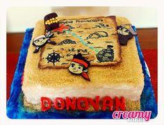 Creamy Cakes: Jack e os Piratas * Jack et les pirates