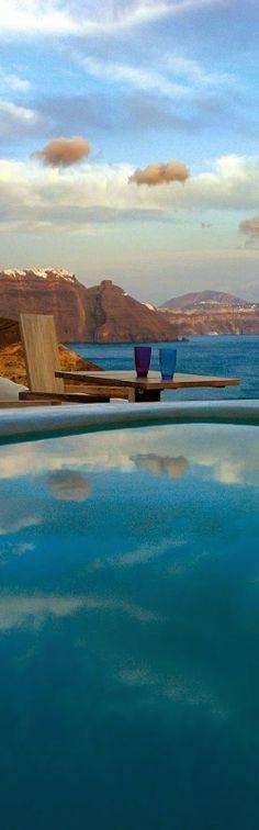 Mystique, Santorini ~ Colette Le Mason @}-,-;---