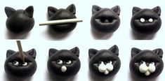 cat from Fimo