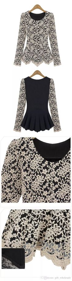 I found some amazing stuff, open it to learn more! Don't wait:https://m.dhgate.com/product/elegant-sexy-women-long-sleeve-lace-peplum/217949969.html