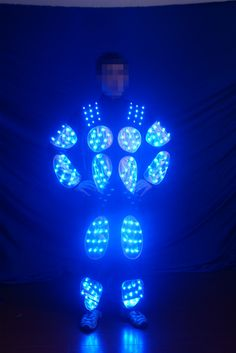 Hot sale led robot costume, #ledcostumes #leddancers #ledperformers #entertainment #party #nightclub #trondance #ledtron Robot Costumes, Led Costume, Laser Show, Stage Show, Campaign, Dance, Hot, Dancing