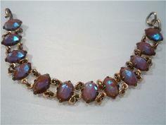 STUNNING ANTIQUE VICTORIAN SAPHIRET CZECH BRACELET c1850's | eBay
