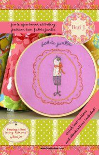 Bari J. Fabric Junkie Stitchery- Downloadable Pattern