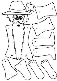 Mangiafuoco disegni da colorare Pinocchio, Hobby, Puppets, Paper Dolls, Clay, Pattern, Lab, Stencils, Theater